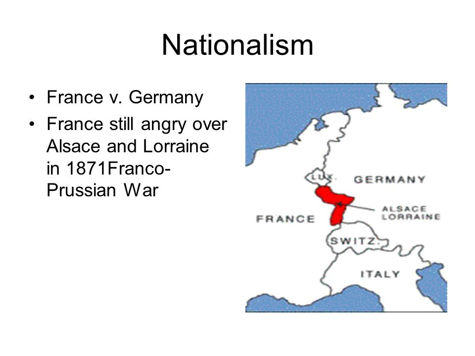 Nationalism France v.