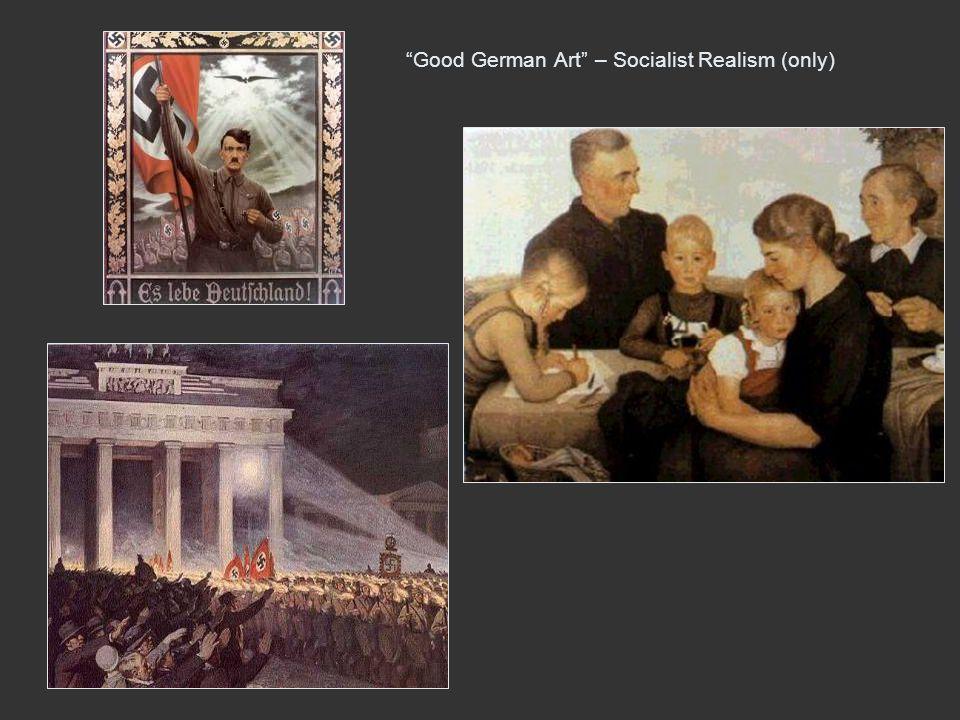 Good German Art – Socialist Realism (only)