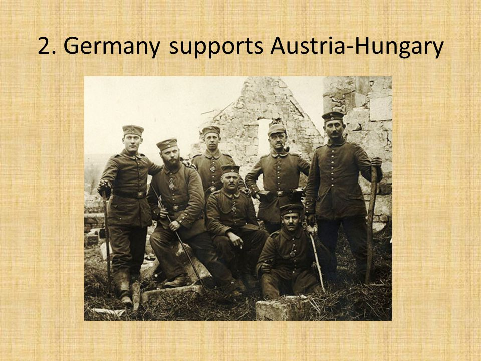 1. Austria-Hungary Declares War on Serbia, July 28, 1914