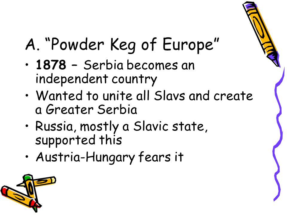 II. Crisis in the Balkans