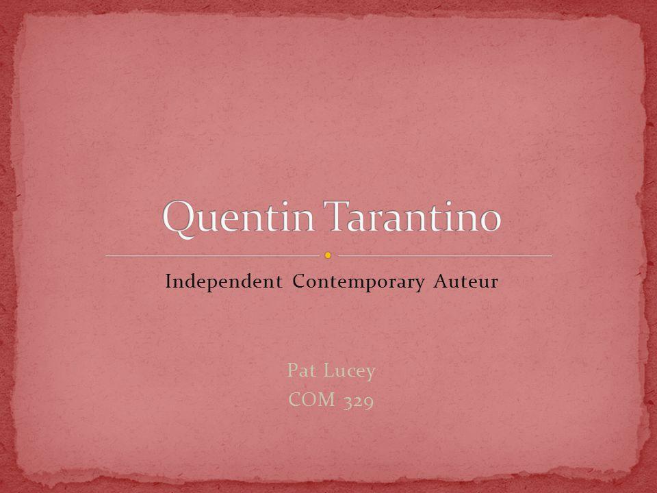 Independent Contemporary Auteur Pat Lucey COM 329