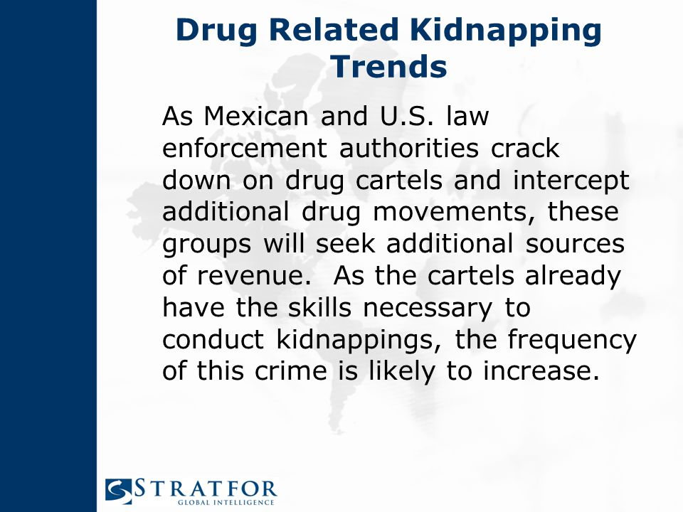 Drug Related Kidnapping Trends As Mexican and U.S.