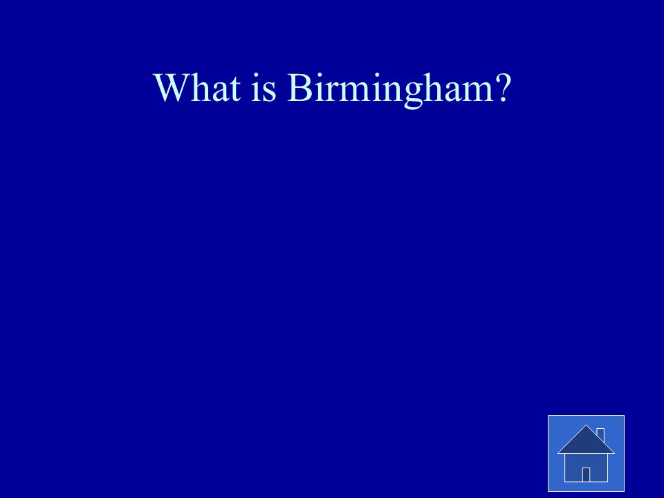 What is Birmingham?