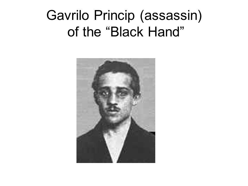 Gavrilo Princip (assassin) of the Black Hand