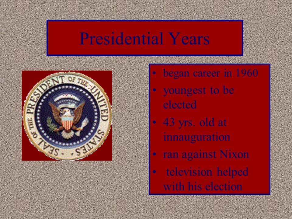 Congressional Years began career in 1946 U.S. Representative U.S.