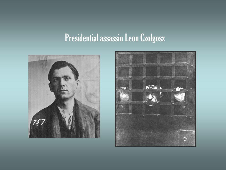 Presidential assassin Leon Czolgosz