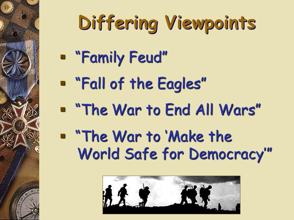 1914-1918: The World at War 1914-1918: The World at War Mr.