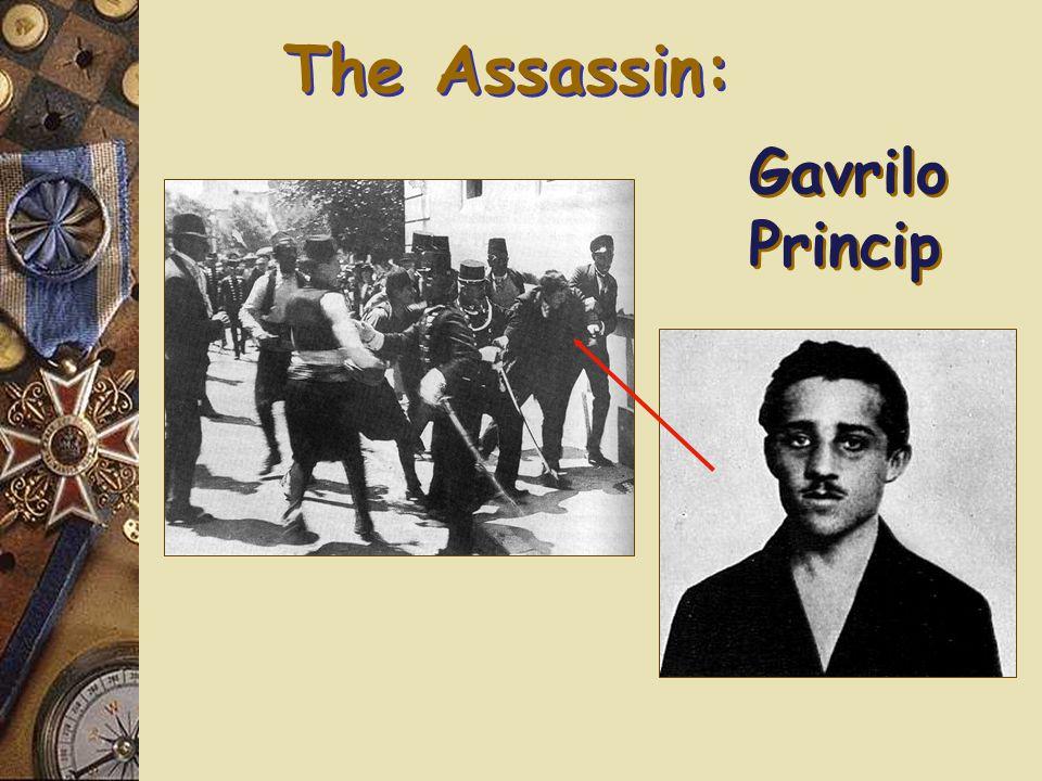 The Assassination: Sarajevo 1.On June 28, 1914, a Serbian nationalist assassinated Ferdinand.
