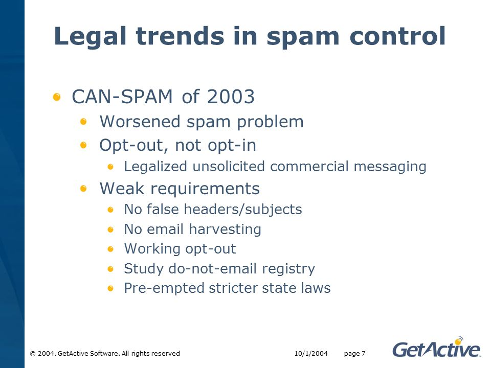 © 2004. GetActive Software.
