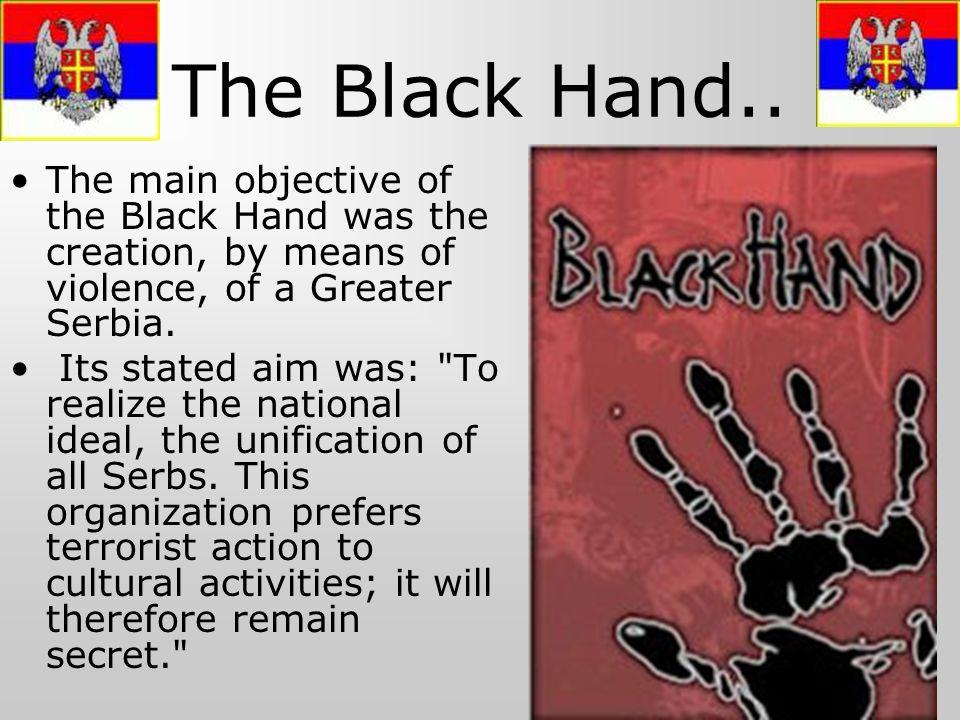 The Black Hand..