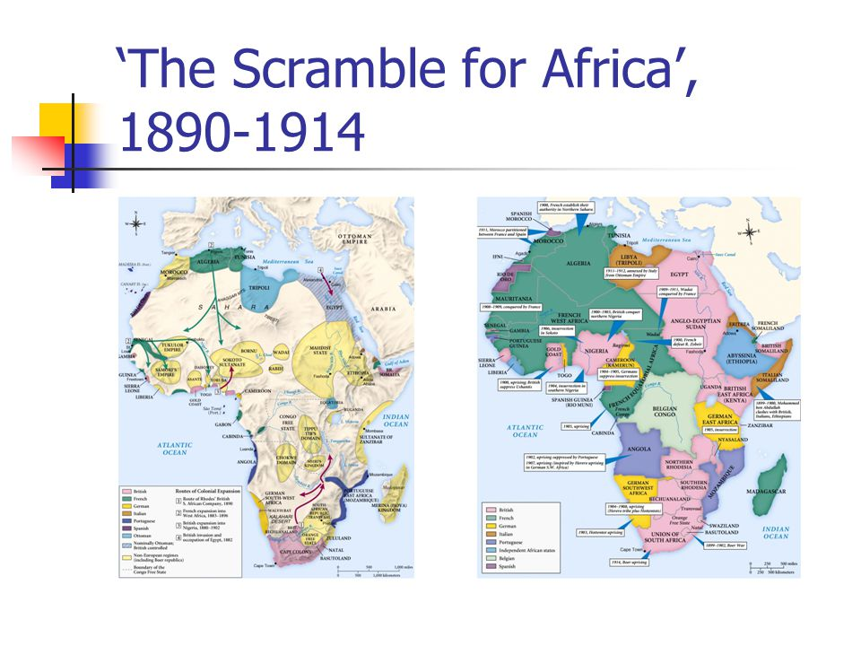 'The Scramble for Africa', 1890-1914
