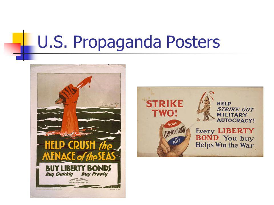 U.S. Propaganda Posters