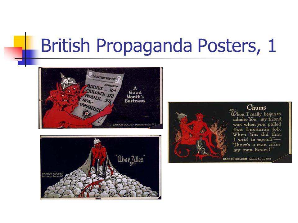 British Propaganda Posters, 1
