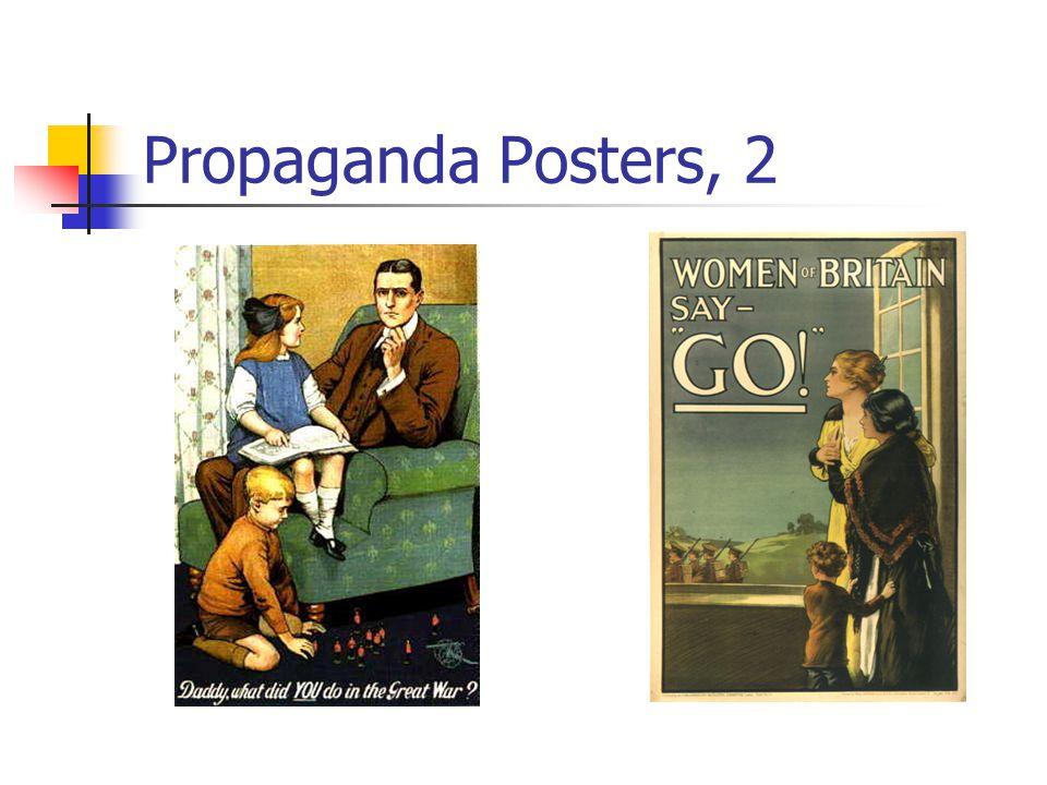 Propaganda Posters, 2