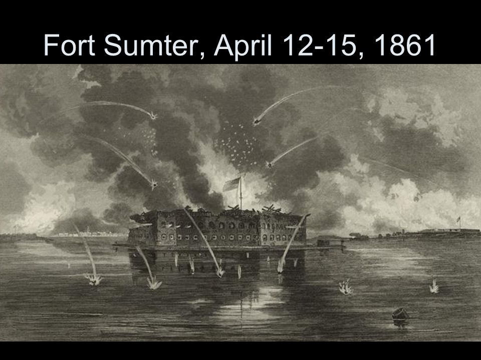Fort Sumter, April 12-15, 1861