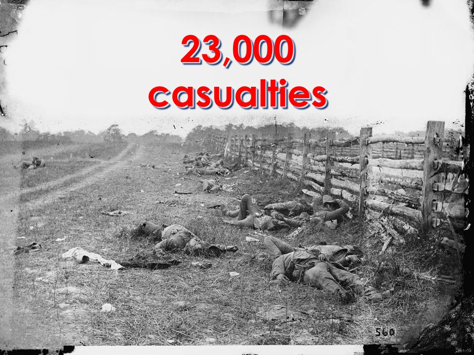 23,000 casualties