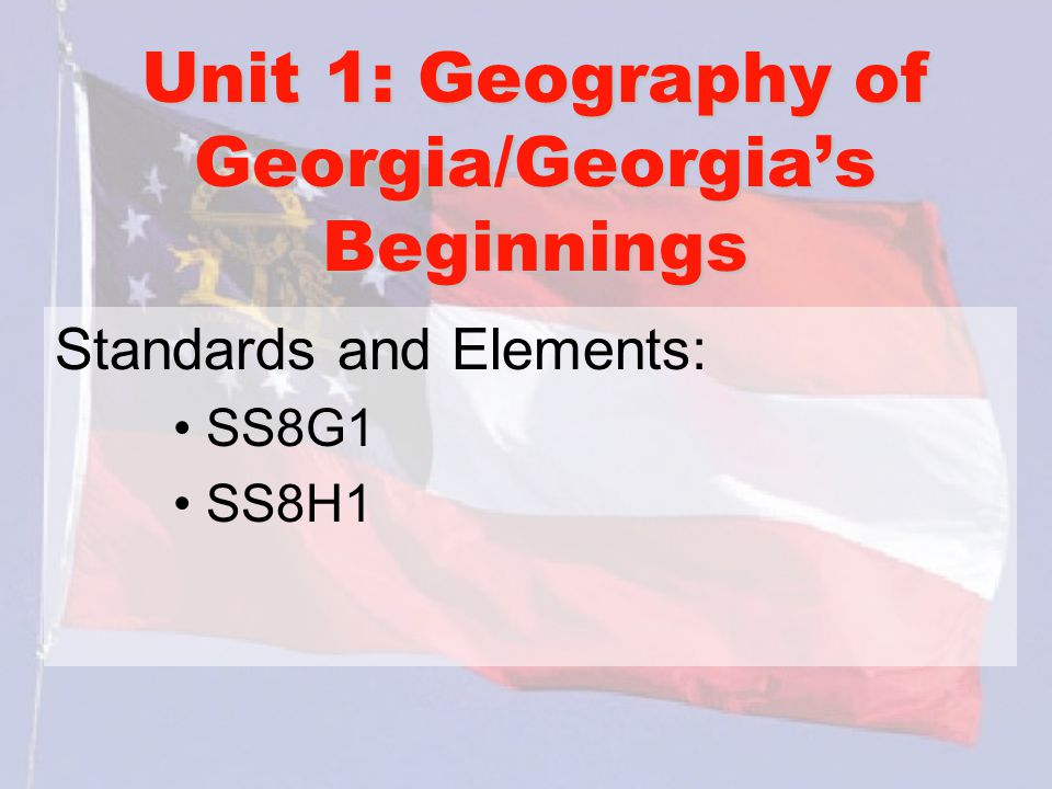 Geography of Georgia Georgia is located in the following areas: -Region: South, Southeast, etc.