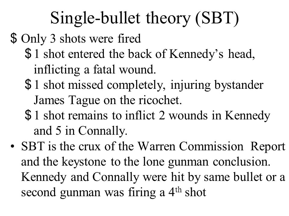 Inductive Reasoning The single-bullet theory is a strong inductive argument because the five premises on which it is based pertain to the conclusion.