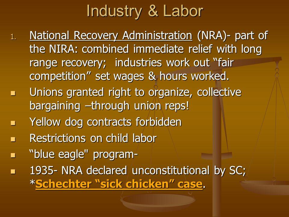 Industry & Labor 1.