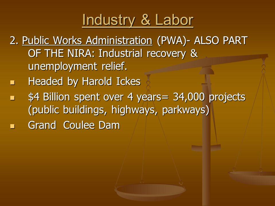 Industry & Labor 2.