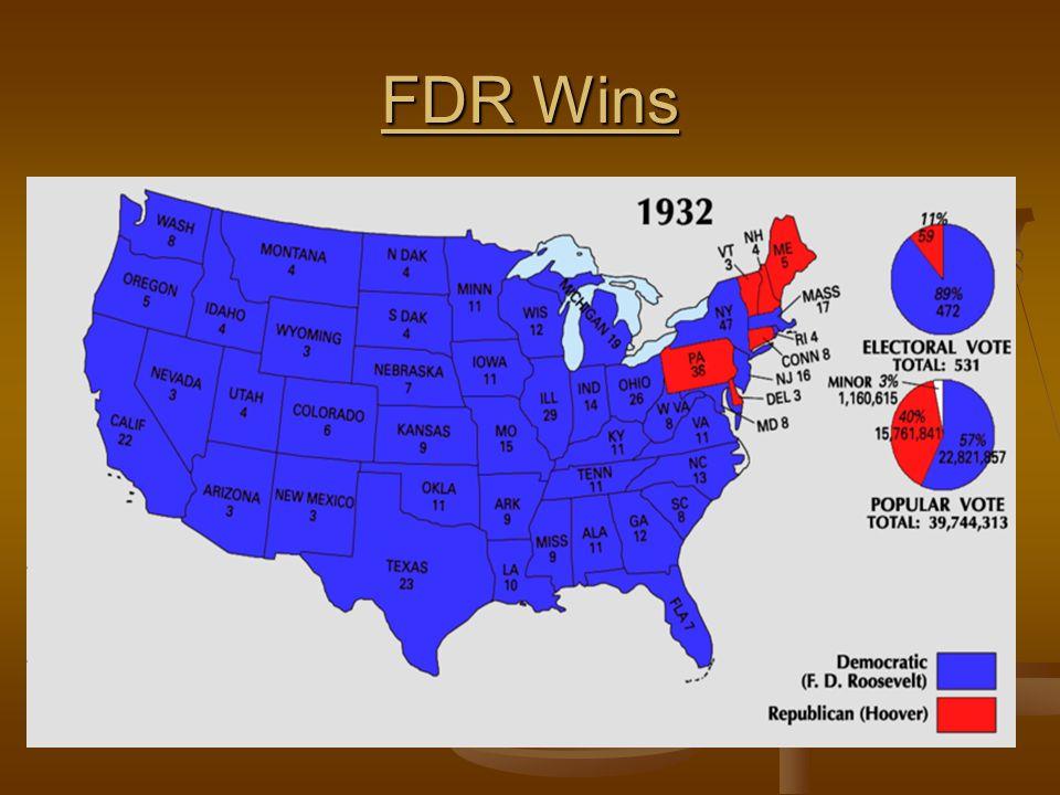 FDR Wins