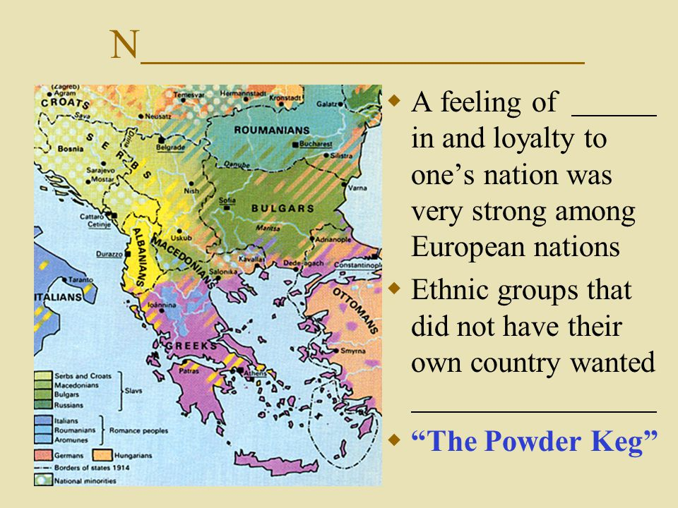 I  Countries increased their power and wealth by controlling others.