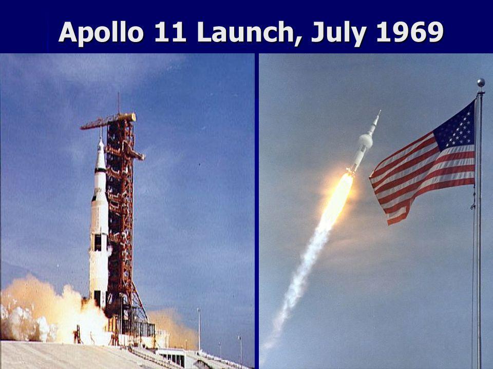 Apollo 11 Launch, July 1969