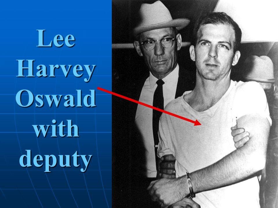 Lee Harvey Oswaldwithdeputy