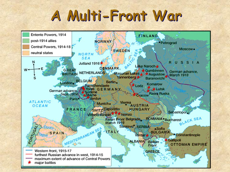World War 1: The Fighting Begins Lecture 2
