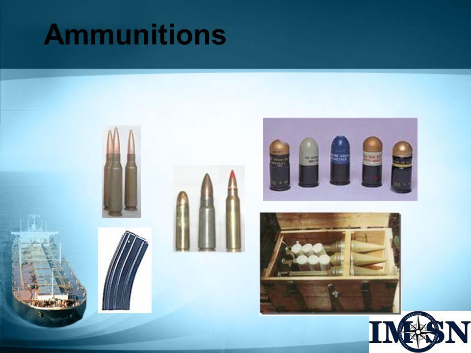 Ammunitions