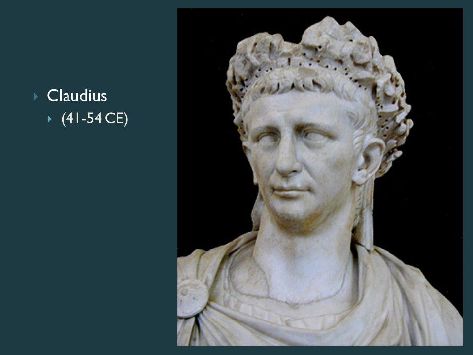  Claudius  (41-54 CE)