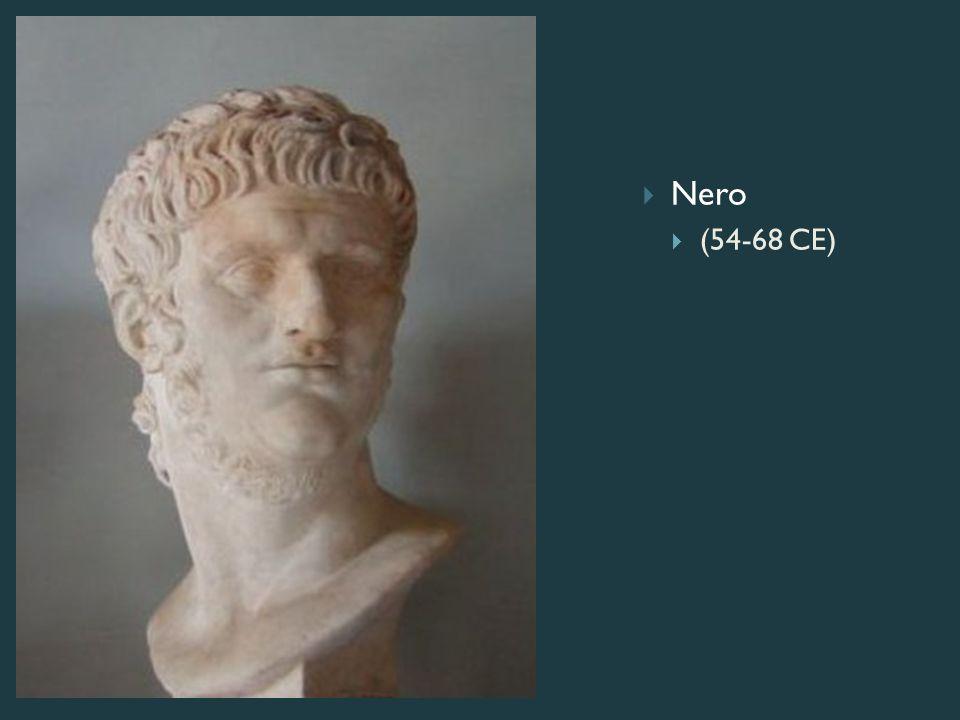 Nero  (54-68 CE)