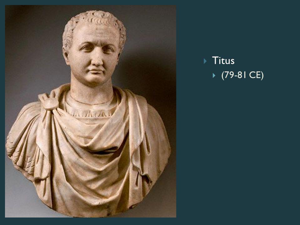 Titus  (79-81 CE)