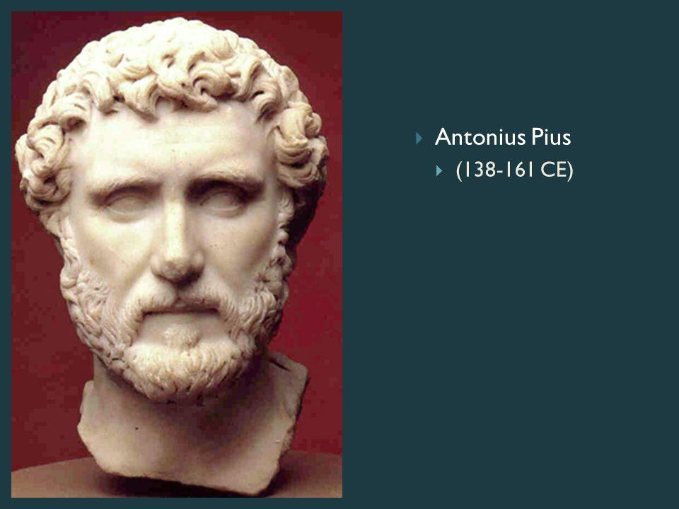  Antonius Pius  (138-161 CE)
