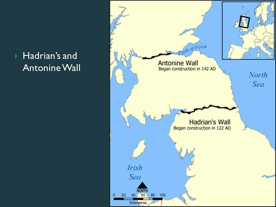  Hadrian's and Antonine Wall