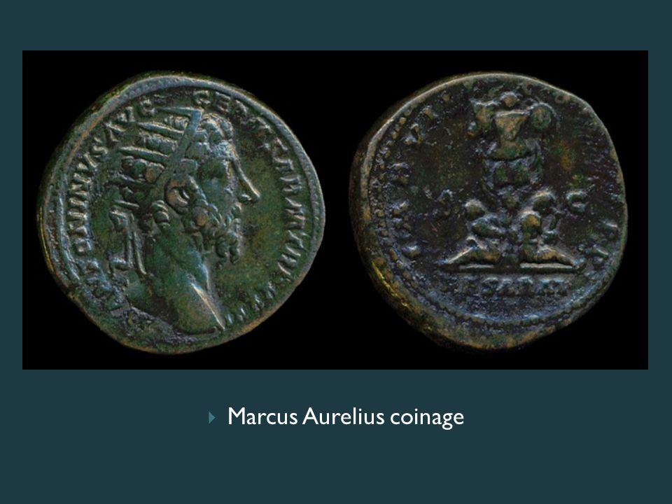  Marcus Aurelius coinage
