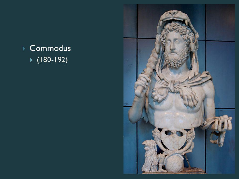  Commodus  (180-192)