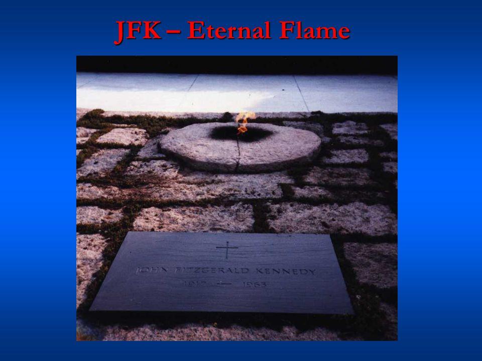 JFK – Eternal Flame