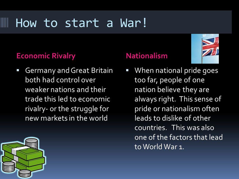 How to start a War.
