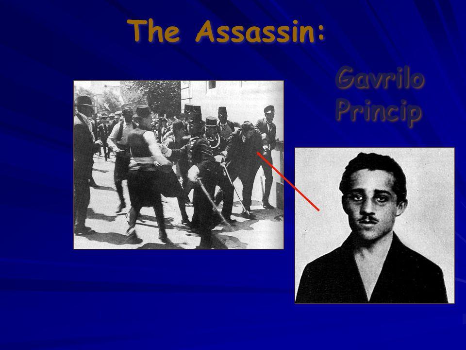 The Assassin: Gavrilo Princip Gavrilo Princip