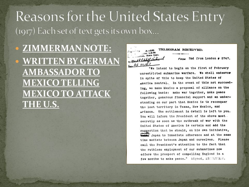 The U.S. wanted to remain NEUTRAL at the beginning of WWI.