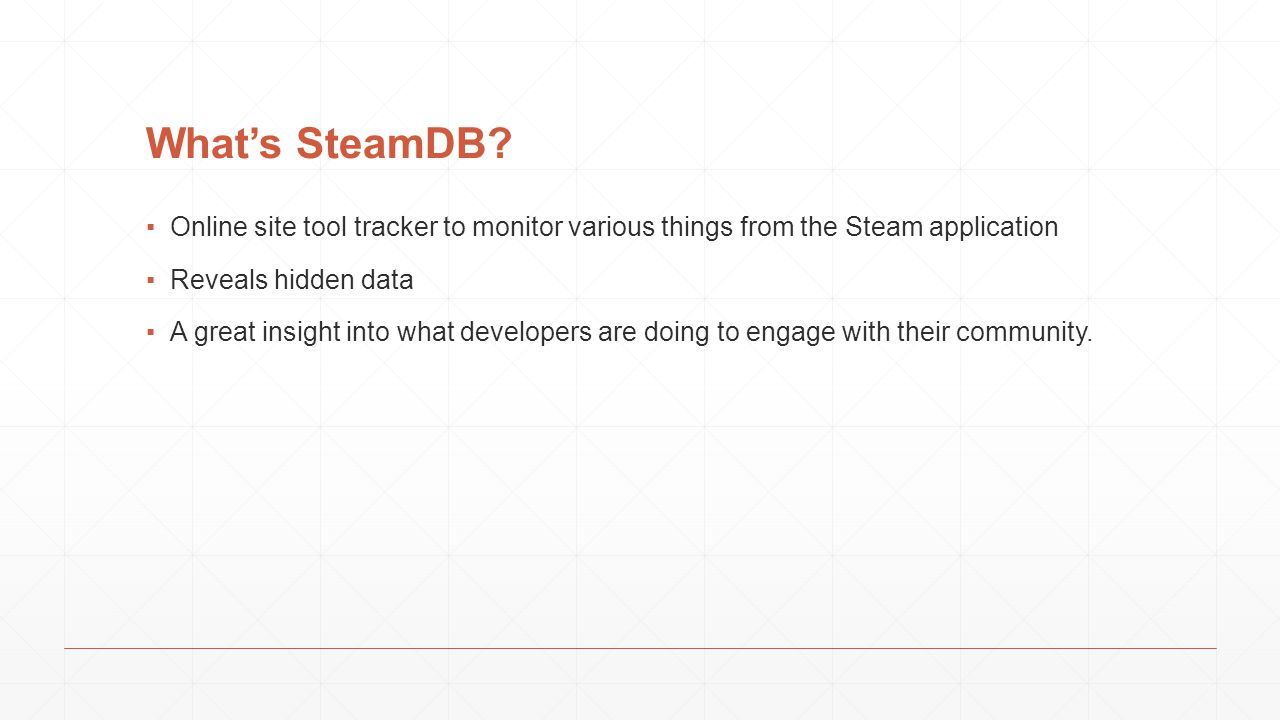 What's SteamDB.