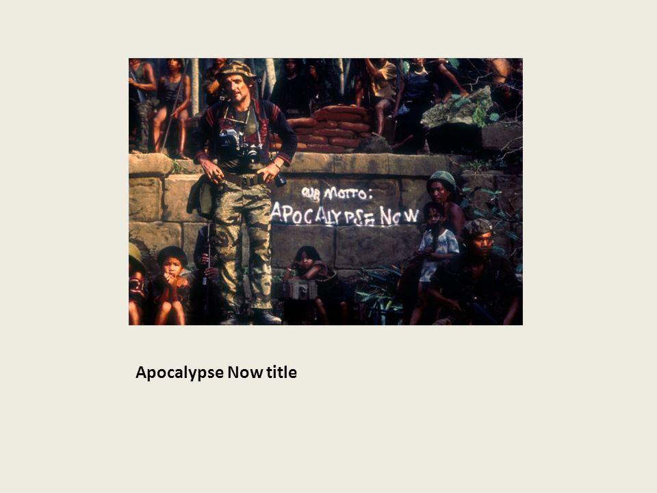 Apocalypse Now title
