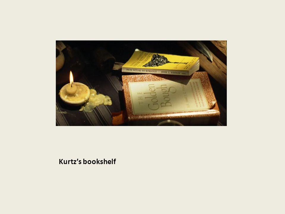 Kurtz's bookshelf