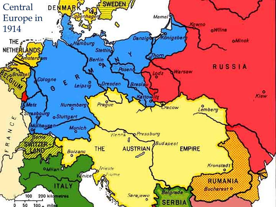The Major Players: 1914-17 Nicholas II [Rus] George V [Br] Pres. Poincare [Fr] Allied Powers: Franz Josef [A-H] Wilhelm II [Ger] Victor Emmanuel II [I