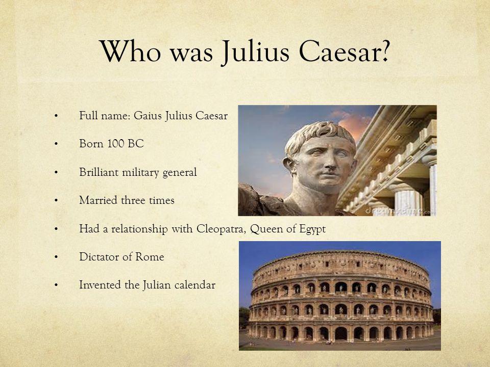 Caesar's Rise to Power 100-44 BC