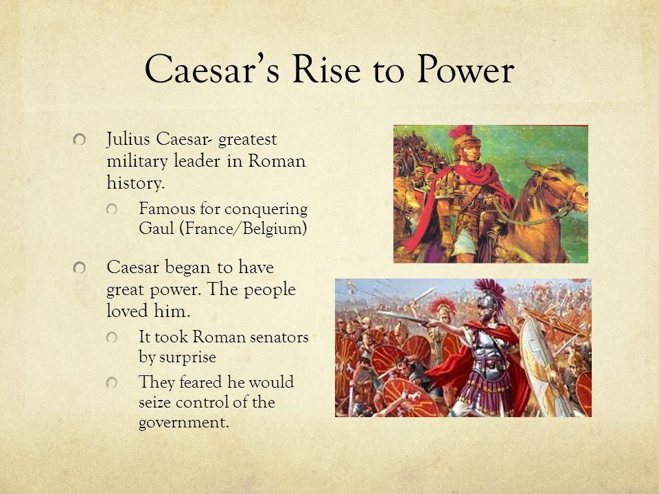 Caesar as Dictator After the wars were over, he returned to Rome and astonished the world by granting amnesty to all his past enemies.