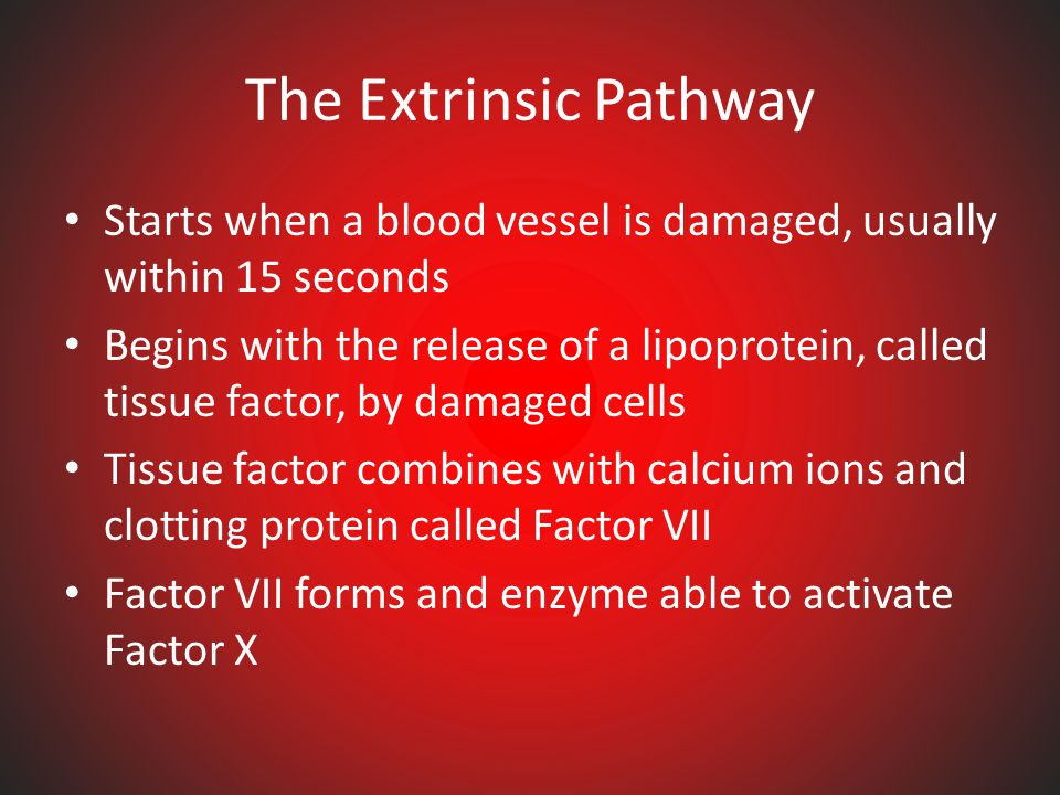"FACTOR ""X"" – The Clotting Process Used to prevent bleeding to death Involves calcium ions and 11 plasma proteins Cascade of changes occur to make a cl"