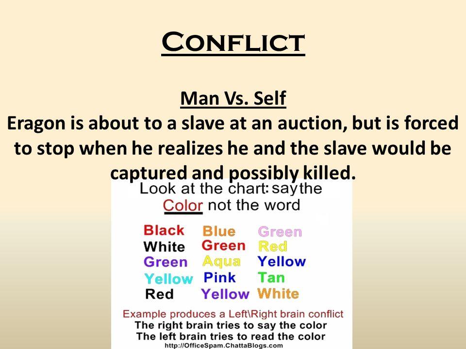 Conflict Man Vs.