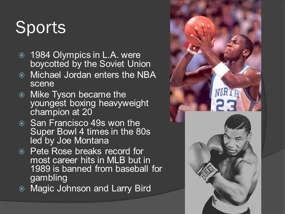 Sports  1984 Olympics in L.A.